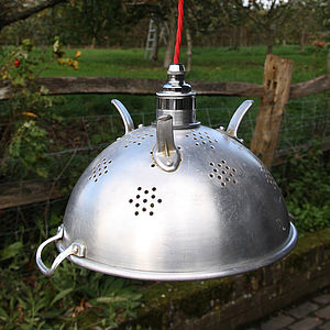 Sputnik Vintage Colander Lamp - ceiling lights