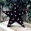 Marquee Star light - Black