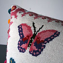 Cross Stitch Butterfly Craft Kit