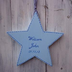 Personalised Script Star