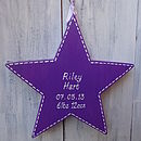 New Baby Star_Royal Purple