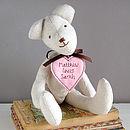 Handmade Teddy Bear For Her