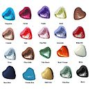 200 Foil Covered Heart Shape Chocolates
