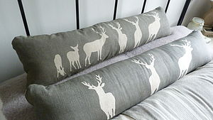 Triptych Stag Bolster - cushions