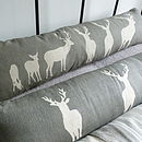 Triptych Stag Bolster