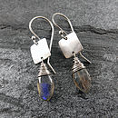 Labradorite Tab Earrings