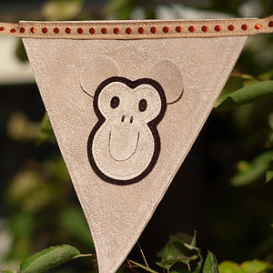Monkey Personalised Bunting