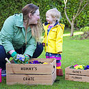 Mummy And Me Personalised Crates