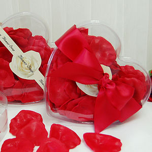 Rose Petal Soap Valentines Gift - bathroom