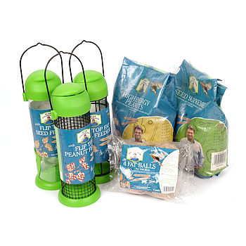 Alan Titchmarsh Wild Bird Deluxe Feeding Set