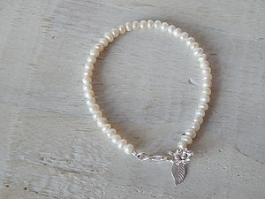 Pearl And Charm Bracelet - women's jewellery