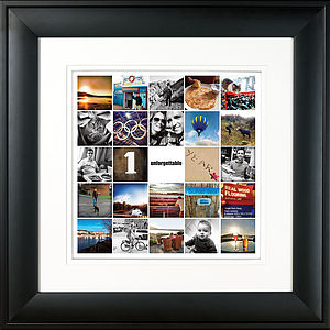 Anniversary Montage Print - personalised