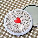 Jammy Dodger Biscuit Compact Mirror