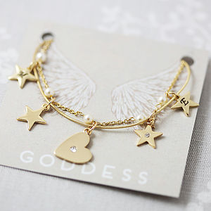 Delicate Pearl Charm Bracelet - women's jewellery
