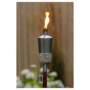 Mira Outdoor Torch With Free Citronella Oil - lighting