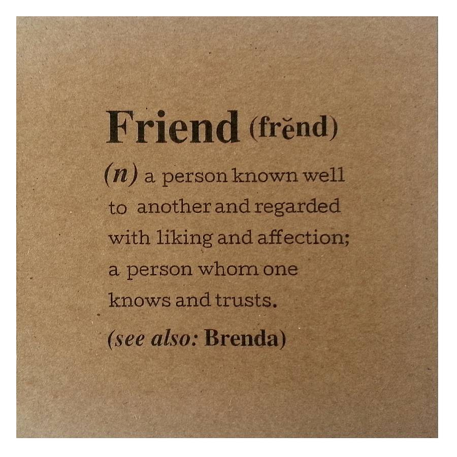 friendship definition Be conversant with the definition of the term friendship ie, try not to just use the dictionary definitions to avoid sounding uninteresting and pedantic.