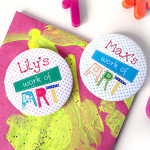 Personalised Child's 'Work Of Art' Magnet - view all mother's day gifts