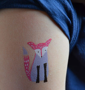 Children's Temporary Tattoos - party bags and ideas
