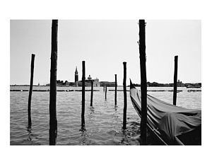 Grand Canal, Venice, Black And White Signed Print