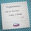 Personalised Engagement Popping Card