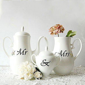 Personalised Top Table China Coffee Set