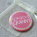 Gorgeous Granny Pocket Mirror