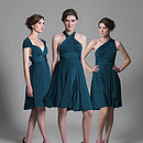 Multiway Dress in Teal