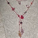 Candy Pink Classic Lariat Sold