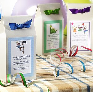 Personalised Party Bag Gift Boxes
