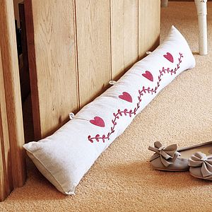 Draught Stopping Door Bolster - door stops & draught excluders