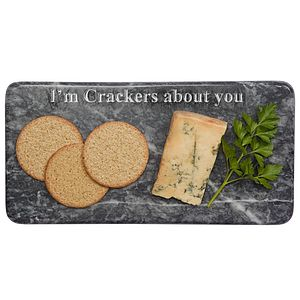 'I'm Crackers About You' Marble Board - for your other half