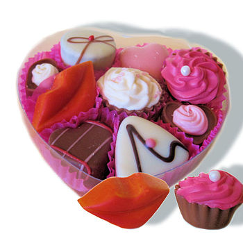 Valentine's Day Chocolates In Giftbox