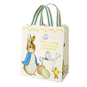 Peter Rabbit Party Bag Set Of Eight - children's easter