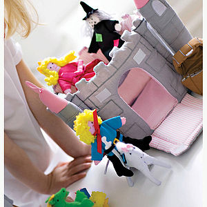Fairy Castles And Cottages Play Sets - soft toys & dolls