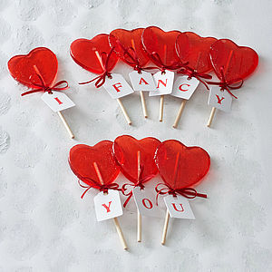 Heart Lollipop - wedding favours
