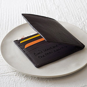 Men's James Buffalo Leather Wallet - view all valentine's gifts