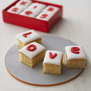 Personalised Love Cake - gifts for her