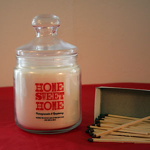 Personalised Scented Jar Candle