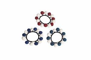 Handmade Felt Bumble Hair Tie - hair accessories