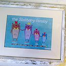 Personalised Bear Family Portrait