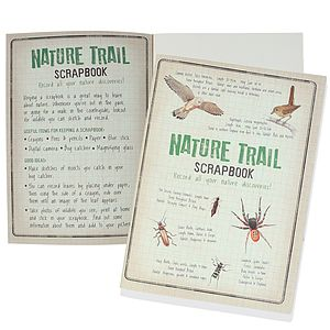 A4 Nature Scrapbook