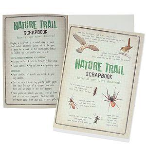 A4 Nature Scrapbook