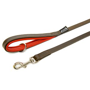 Colours Leather Lead - pet leads & harnesses
