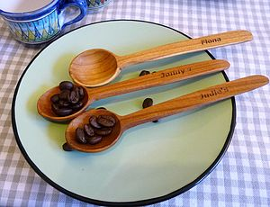 Personalised Wooden Spoon - kitchen accessories
