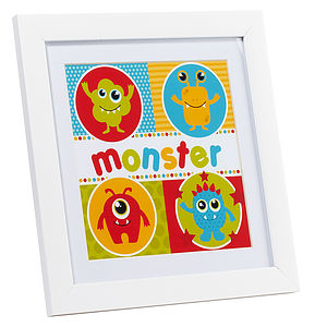 Monster Keepsake Print