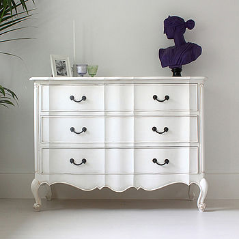 French Louis Chest In Three Colours