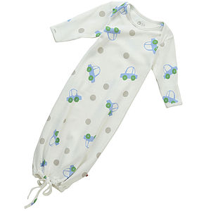 Beep Beep Nightgown - baby sleeping bags