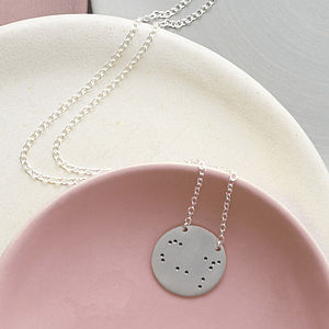 Zodiac Constellation Necklace - star sign gifts
