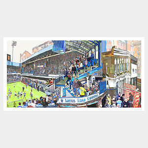 Q.P.R. V Fulham Print - contemporary art