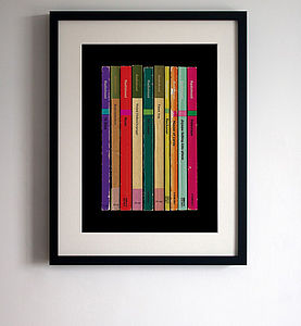 Radiohead Album In Book Form Print